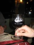 vin de cahors et son verre